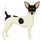 Toy Fox Terrier by Happy Dog Swag