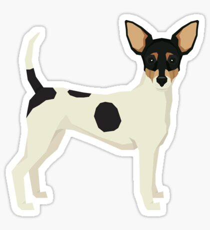 Toy Fox Terrier Sticker