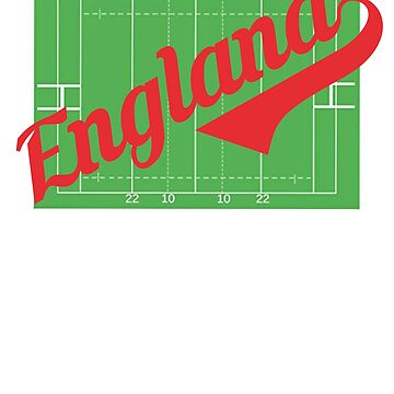 England Rugby Training Jersey English Rose Gift T-Shirt Top by thehadgaddad
