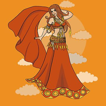 Dawn Belly Dancer by Boogiemonst