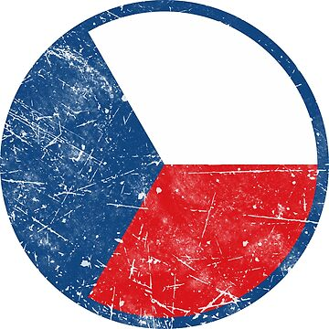 Czech Republic Flag Roundel by quark