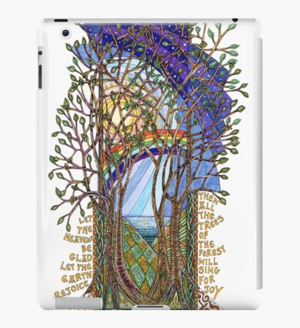 Sing for Joy - Psalm 86 iPad Case/Skin