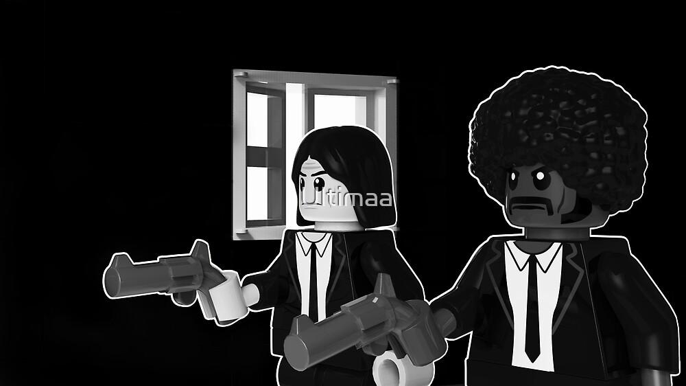 Lego Brick Fiction Parody Variant 01 by Szymon Urlich