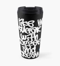 """I like my sugar with coffee and cream"" Travel Mug"