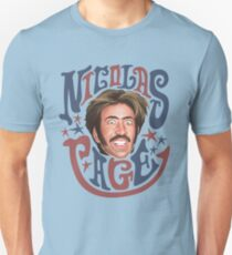 Nicolas Cage 3 Slim Fit T-Shirt