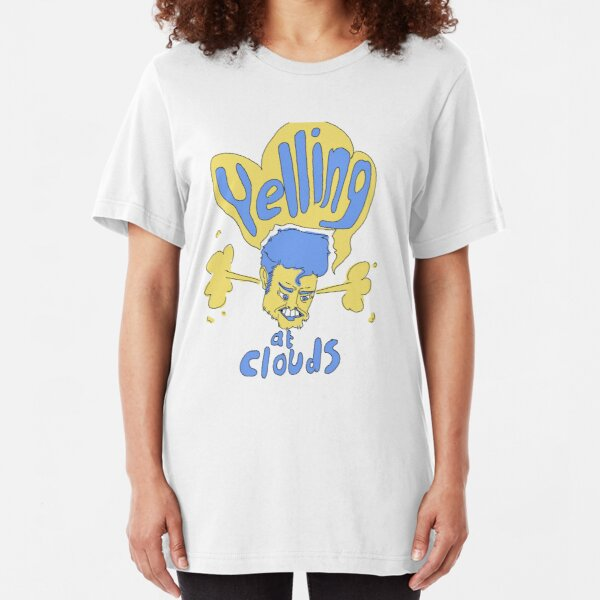 Yelling at Clouds Slim Fit T-Shirt