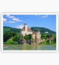 Castles Along The Danube  Sticker