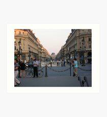 Parisian Lifestyles - Paris Art Print