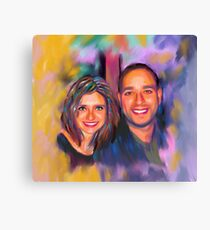 Custom Acrylic Portrait  Canvas Print