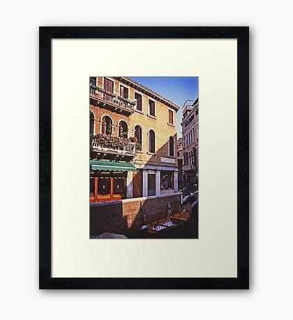 Fondamenta del Piovan, Venice Framed Print