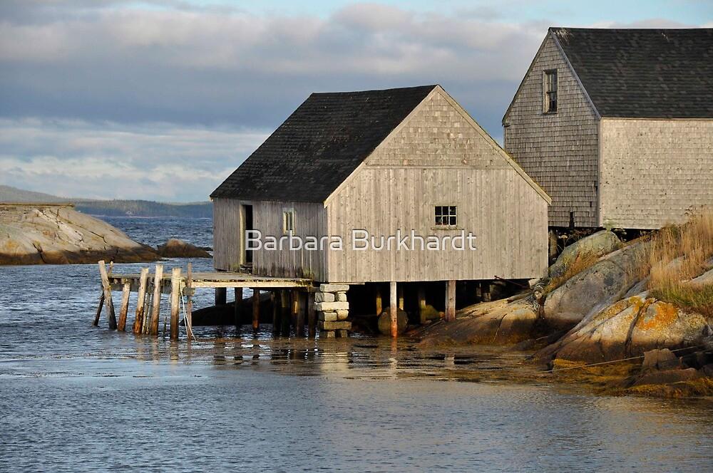 Peggy's Cove - Nova Scotia by Barbara Burkhardt
