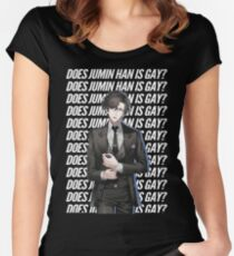 Does Jumin Han is gay? (UPDATED DESIGN) Women's Fitted Scoop T-Shirt