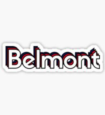 Belmont Sticker