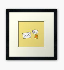 Postage Framed Print