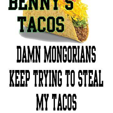 Benny's Taco's Mongorians by Jebus13