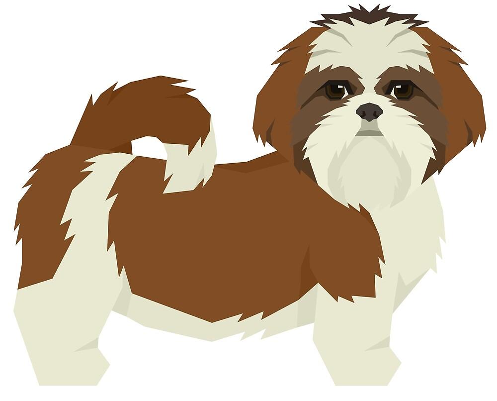 Shih Tzu by Happy Dog Swag