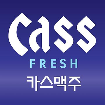 Cass Fresh Korean Beer by estudio3e
