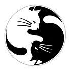 Cat ying yang sign by arpitalasker