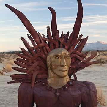 Sun god by Breceda at Borrego Springs by jcmeyer