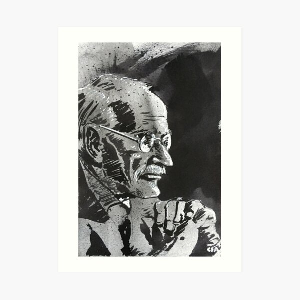 Carl Jung Art Print
