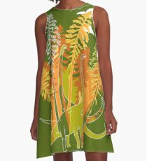 Brachio Grove A-Line Dress