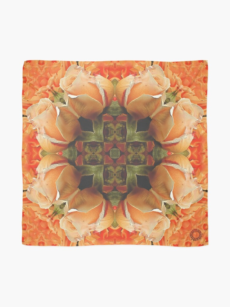Alternate view of D1G1TAL-M00DZ ~ FLORAL ~ Rose Magic 1 by tasmanianartist 131218 Scarf