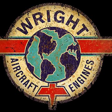 Wright Aircraft Engines USA by midcenturydave