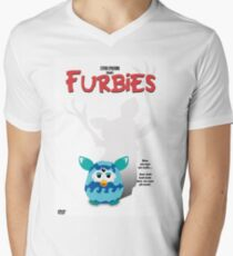 Furbies DVD Cover - Gremlins Parody Men's V-Neck T-Shirt