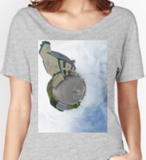 Biddy's House - the Crossroads Pub, Glencolmcille(Sky Out) Women's Relaxed Fit T-Shirt
