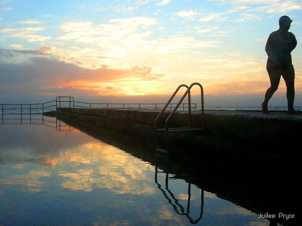 the dawn swimmer by Juilee  Pryor