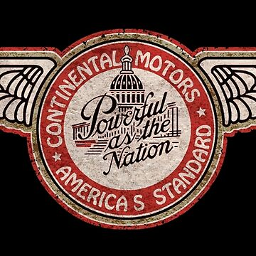 Continental Aircraft Engines USA by midcenturydave