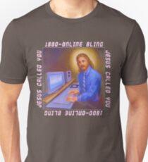 Online Jesus Unisex T-Shirt