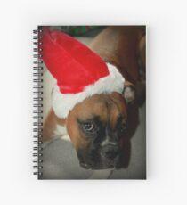 Dino ~ Santas kleiner Helfer ~ Boxer Dog Series Spiralblock