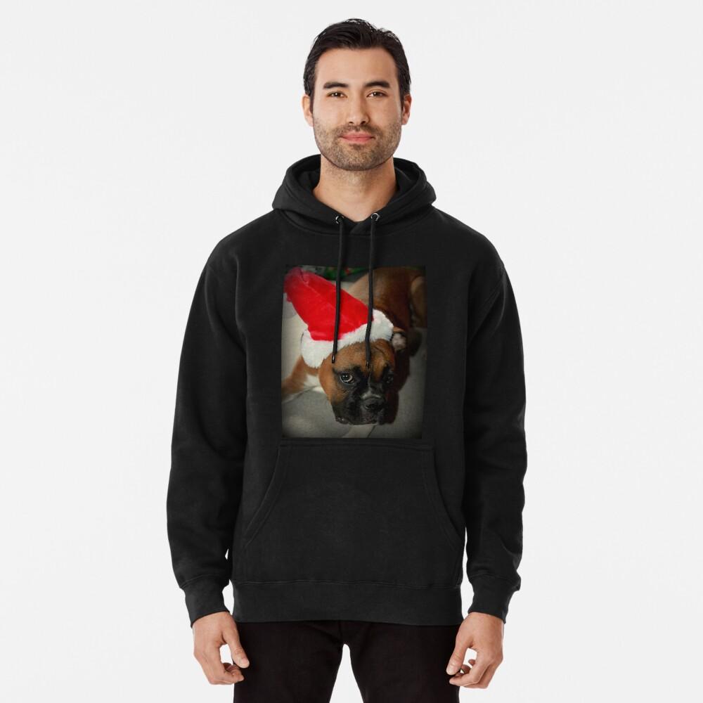 Dino ~ Santas kleiner Helfer ~ Boxer Dog Series Hoodie