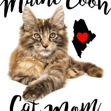 Maine Coon Cat Mom by EngineJuan