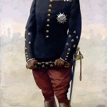 Louis Charles Bombled Le maréchal Foch par Louis Bombled, 1920 by wetdryvac