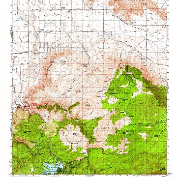 USGS TOPO Map California CA Lake Arrowhead 297929 1956 62500 geo by wetdryvac