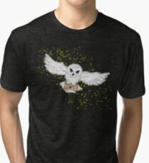 Owl Flight Phone Case Tri-blend T-Shirt