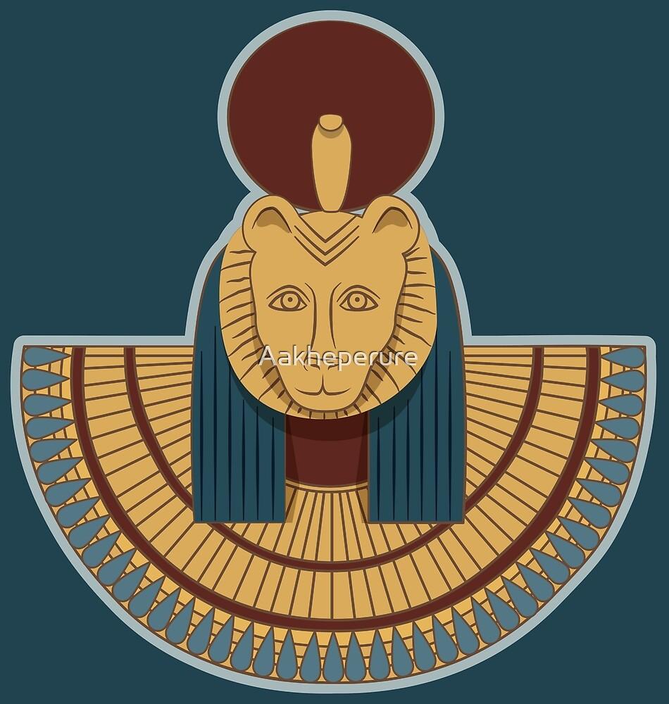 Aegis with head of Sekhmet by Aakheperure