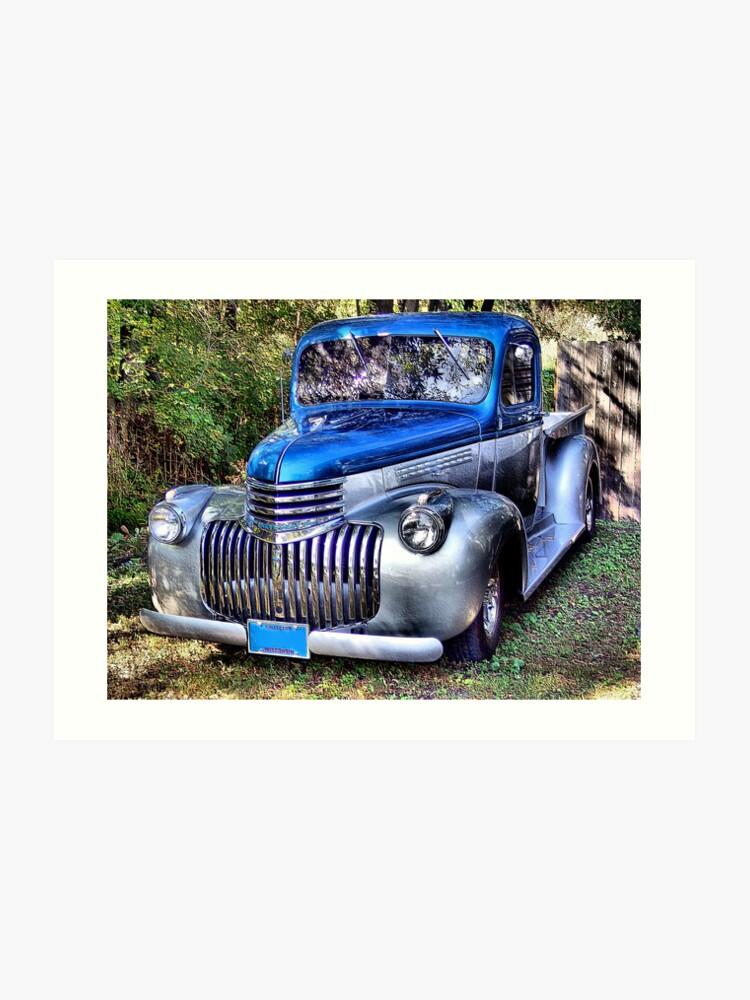 1941 Chevy Pickup | Art Print