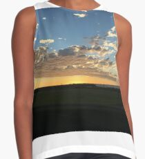 SunGold Rays out From forth the Horizon Sleeveless Top