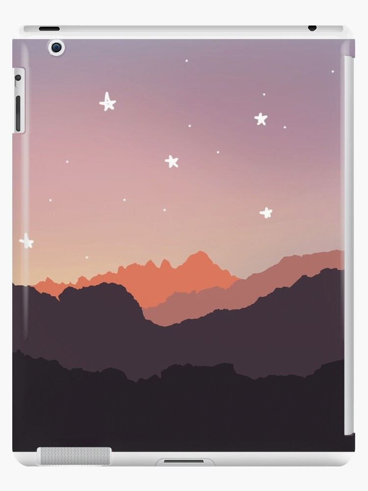 Minimalist Tumblr Mountains Ipad Caseskin By Missfizzy