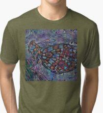 Lepidoptera 4 Tri-blend T-Shirt