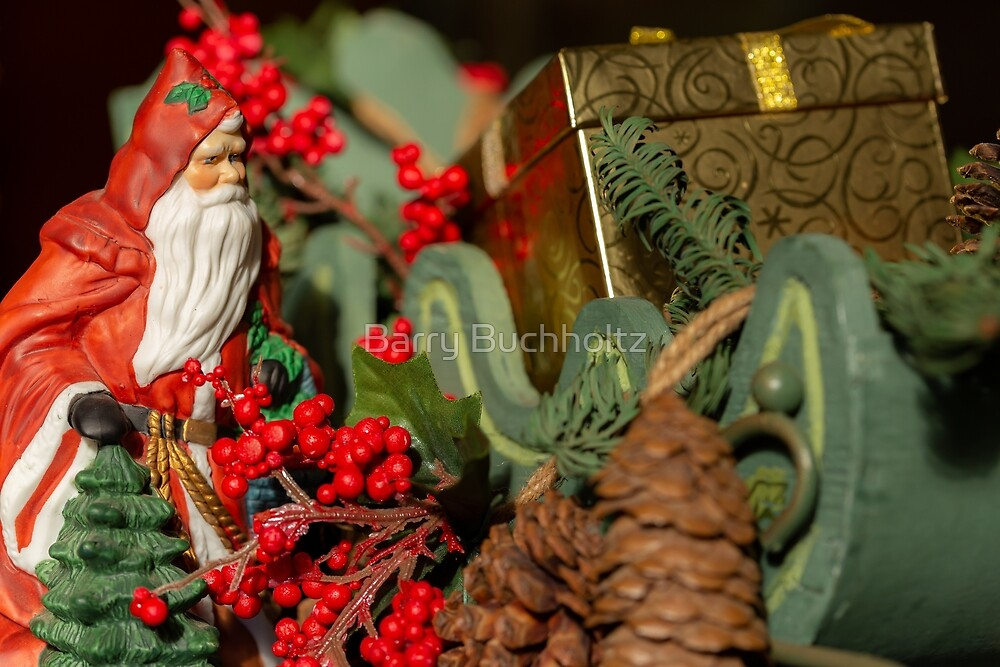 Christmas Gifts 1 by Barry Buchholtz