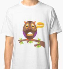 retro owl Classic T-Shirt