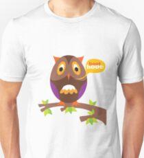 retro owl Unisex T-Shirt