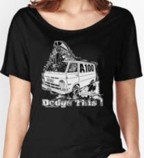DODGE THIS ! Women's Relaxed Fit T-Shirt