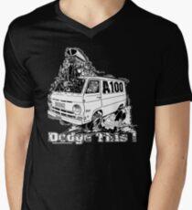 DODGE THIS ! Men's V-Neck T-Shirt