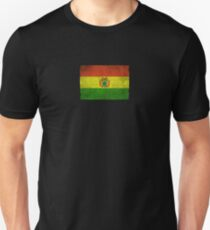 Old and Worn Distressed Vintage Flag of Bolivia Unisex T-Shirt