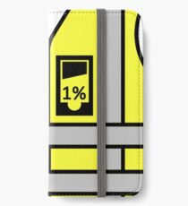 Vinilo o funda para iPhone Chalecos amarillos vs 1%